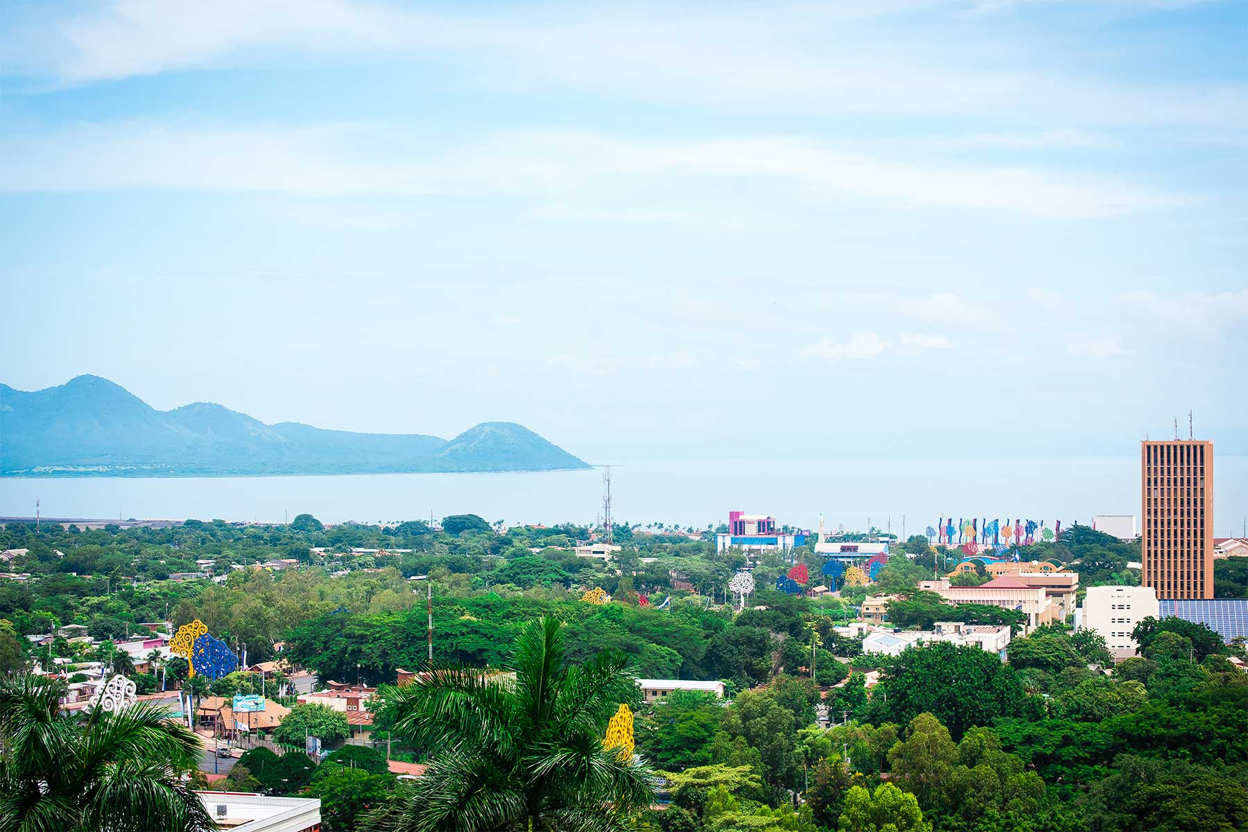 Panorámica de Managua