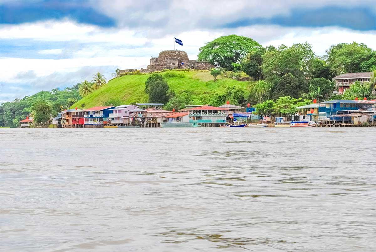 Río-San-Juan-El castillo