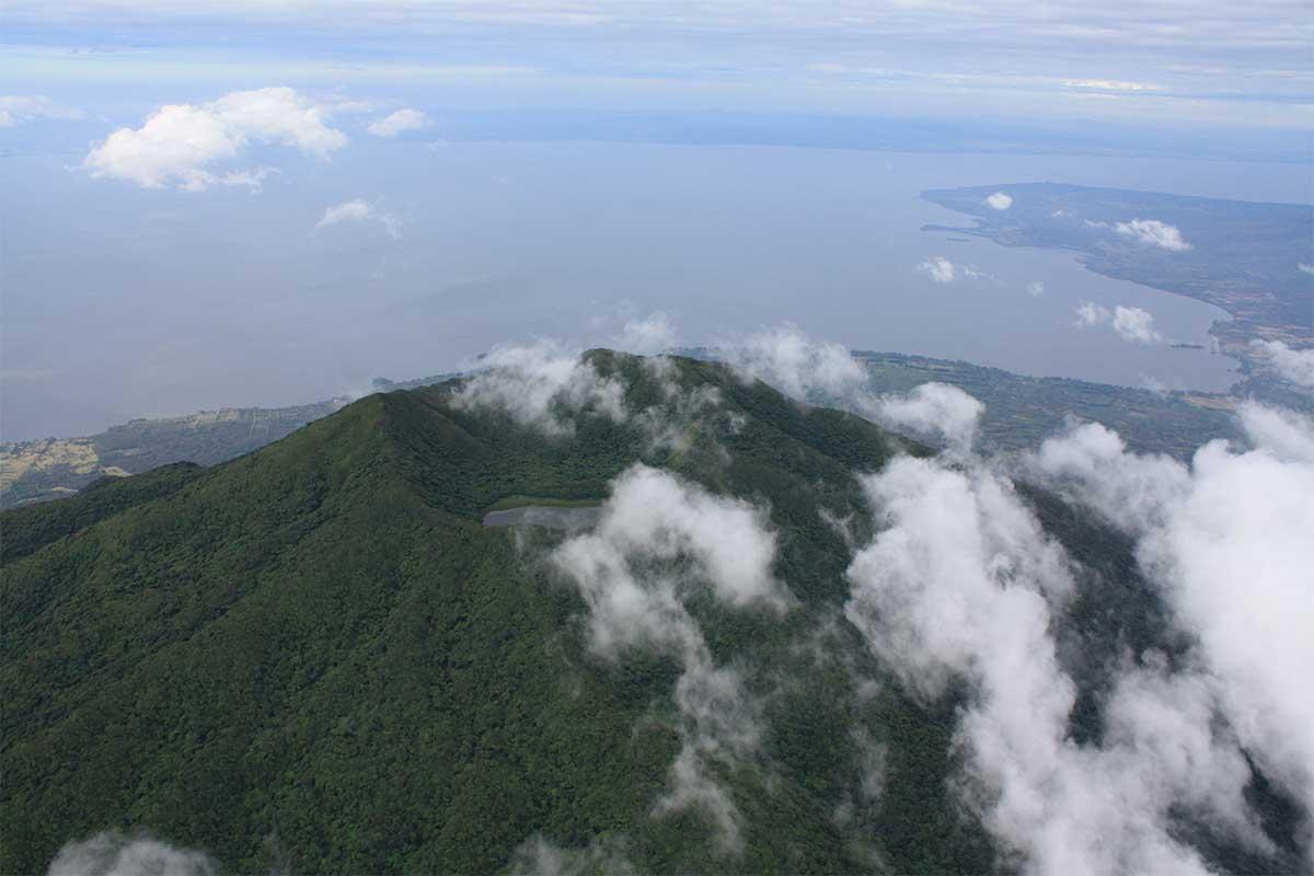 Volcán-maderas