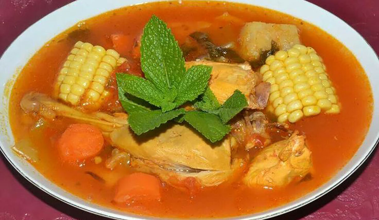 Sopa de gallina india_achuapa_gastronomia1