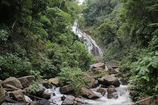 Salto del Rosario o de la Selva Morena
